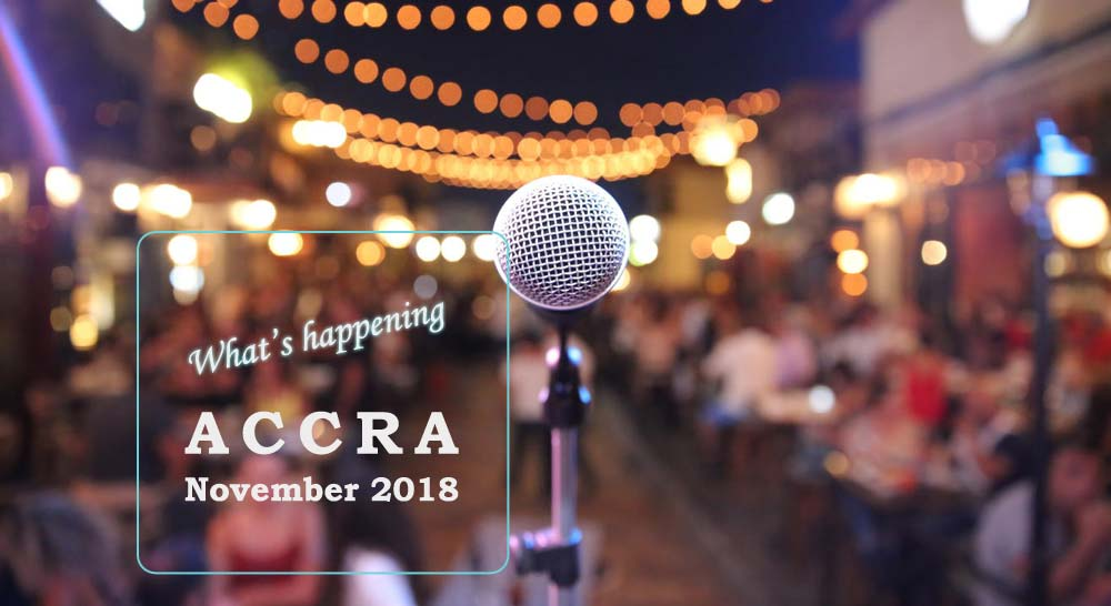 What's Happening in Accra this November