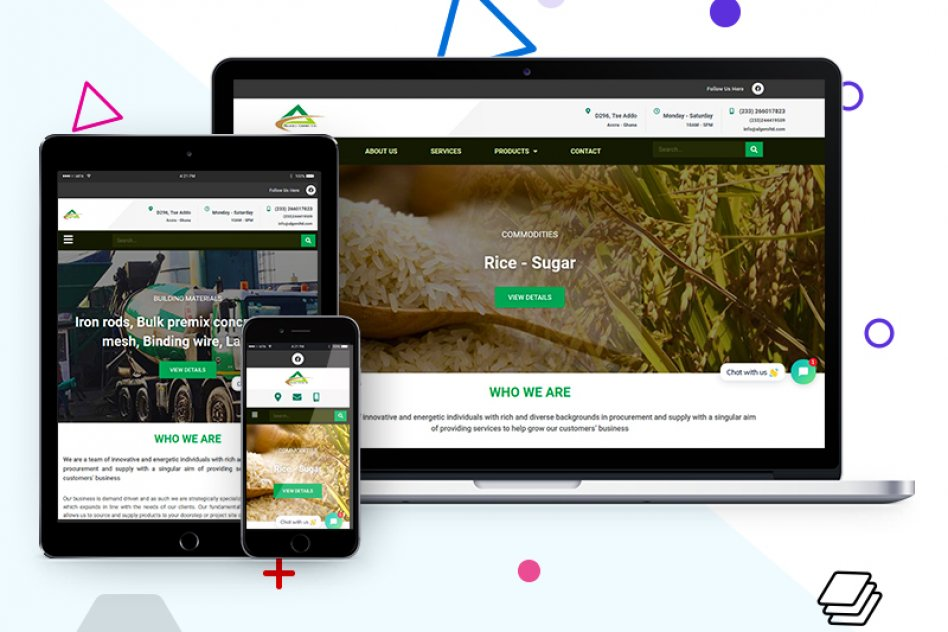 Best Leading Website Design In Ghana picture