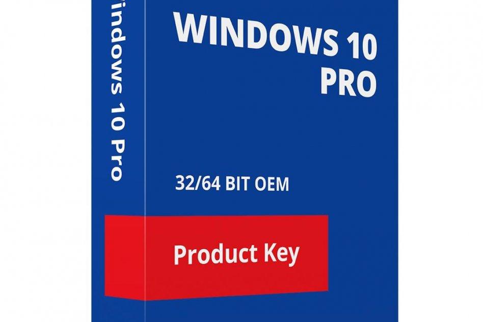 Microsoft Windows 10 Pro Genuine License Key 1pc