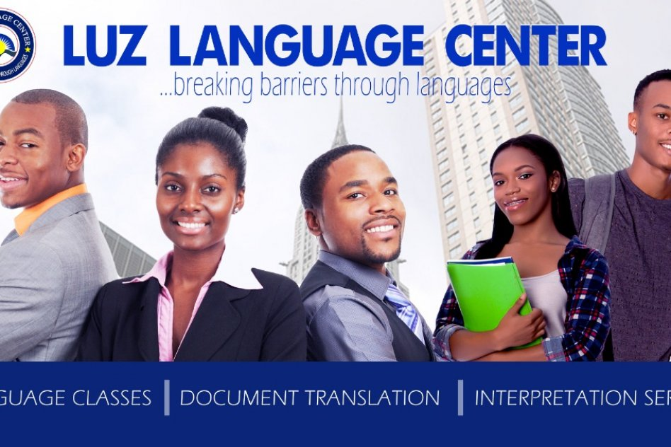 Language classes at the center and online. picture