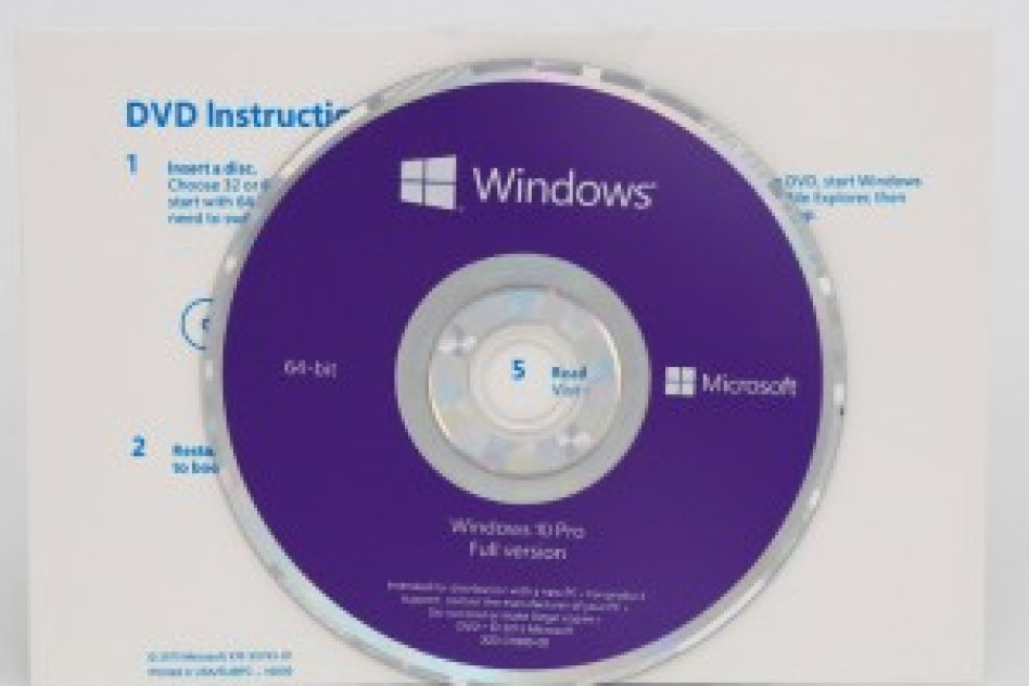 Microsoft Windows Pro (1PC License ) DVD Full Package