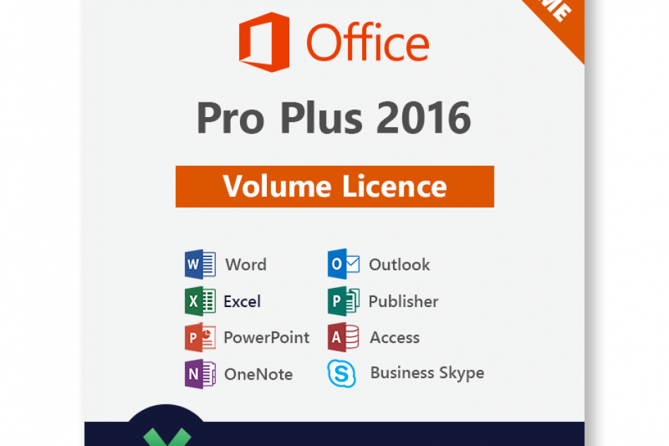 Microsoft Office 2016 Pro Plus on up to 5 PC picture