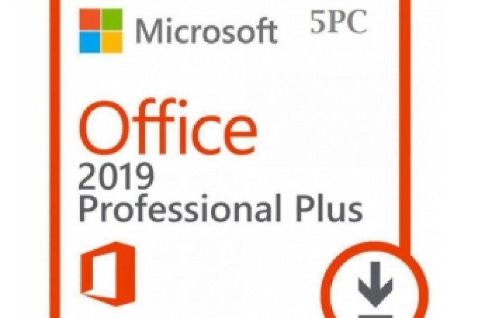 Microsoft Office Pro Plus 2019 - 5 Pcs key  Online Activation picture