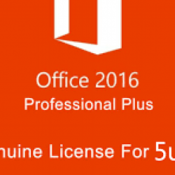 Microsoft Office 2016 Pro Plus on up to 5 PC