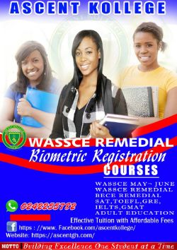 Ascent Kollege Wassce Remedial School