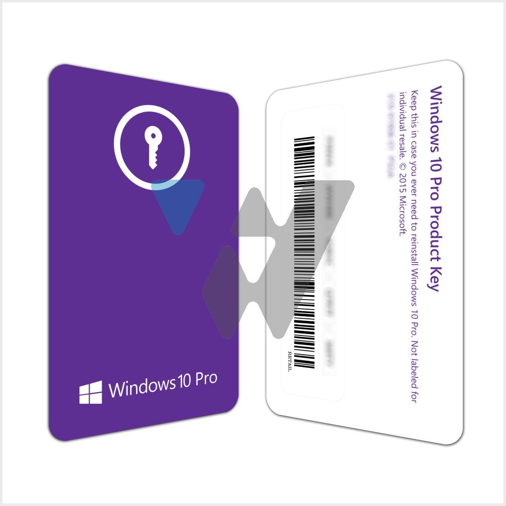 Microsoft Windows 10 Pro (1PC License) FQC-10069
